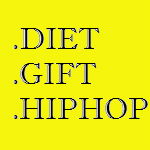 Домены gift-diet-hiphop